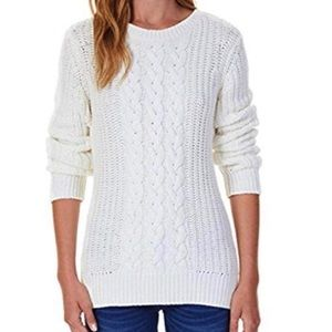 Nautica Cable Knit Pullover Sweater NWT Size L
